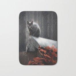 BLACK CAT II Bath Mat