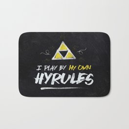 Legend of Zelda Inspired Type I Play by My Own Hyrules Bath Mat