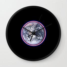 Earth Wall Clock
