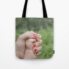 manos Tote Bag