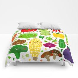Eat your greens! Comforters