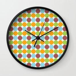 Go Round 1 Wall Clock