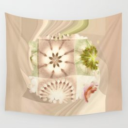 Cagelings Proportion Flowers  ID:16165-120212-27450 Wall Tapestry