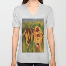 Looking at you Unisex V-Neck