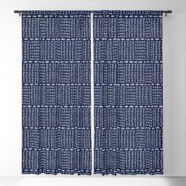 Thai Indigo Batik 2 Blackout Curtain