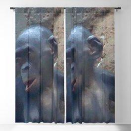 Adorable Chimp Baby Blackout Curtain