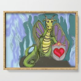 Lovelorn Dragon Serving Tray