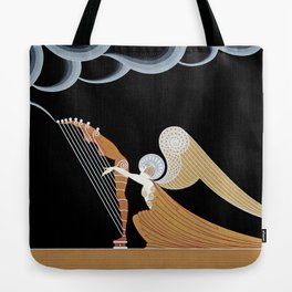 "Art Deco Design ""The Angel"" Tote Bag"
