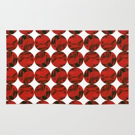 Roses (red) Rug