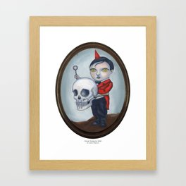 Head Banger - Carnival Sideshow Freak Framed Art Print