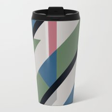 Modernist Dazzle Ship Camouflage Design Travel Mug