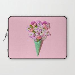 Flower Flurry I Laptop Sleeve