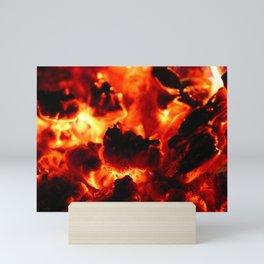 Hot Embers Mini Art Print