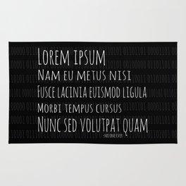 Lorem Ipsum Rug