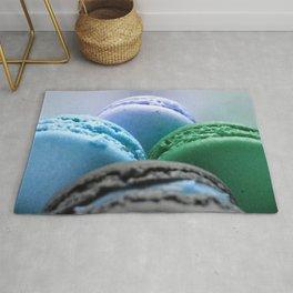 MACAROONS Blue Aqua Turquoise Rug