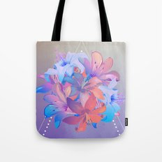 lily bouquet Tote Bag