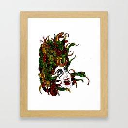 Medusa! Framed Art Print
