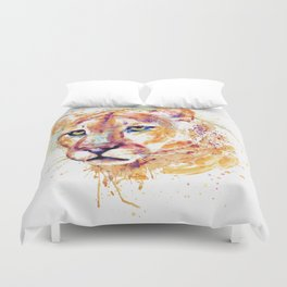 Cougar Head Duvet Cover
