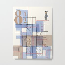 Otto e mezzo Metal Print