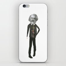 Mr Moody pants iPhone & iPod Skin