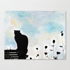 Blue Days Canvas Print