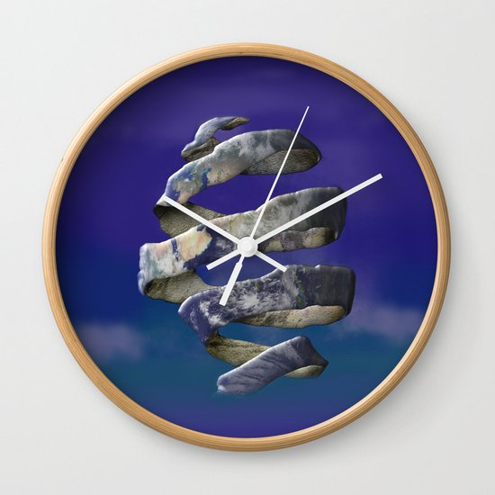 My world is Unraveling Wall Clock