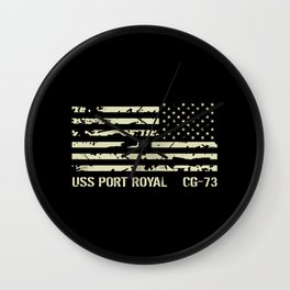 USS Port Royal Wall Clock