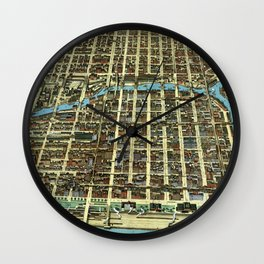 Chicago - Illinois - 1898 Wall Clock