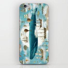 Ocean Meets Sky - book cover iPhone Skin