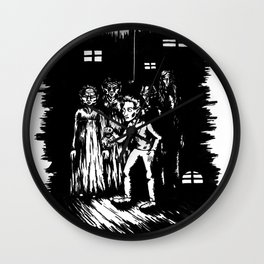 A step into Oblivion Wall Clock
