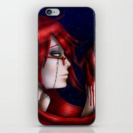 Crimson Madness iPhone Skin