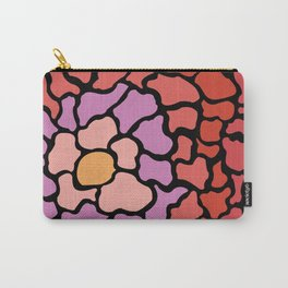 abstract shades of red and pink Carry-All Pouch
