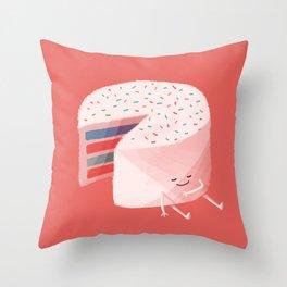 Sugar High Throw Pillow