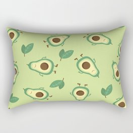 Happy Avocados Rectangular Pillow