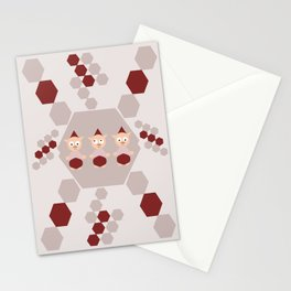 The piglet troup Stationery Cards