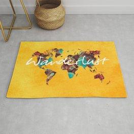 world map 123 wanderlust #wanderlust #map Rug