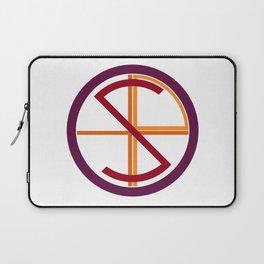 Post Religion Logo Laptop Sleeve