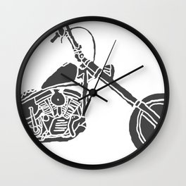 Moto Machina Wall Clock