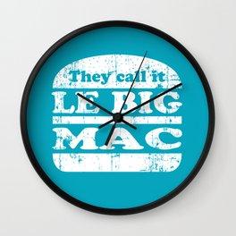 Pulp Fiction - Le big mac Wall Clock