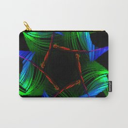Flower Abstract Carry-All Pouch
