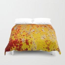 Rust Texture 13 Duvet Cover