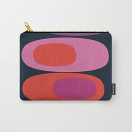 Mellow Out - 70s retro throwback trendy vintage style orb stone pebbles 1970's Carry-All Pouch