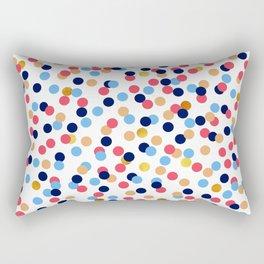 PINK confetti Rectangular Pillow