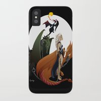 mother of dragons iPhone & iPod Cases featuring Mother of Dragons by LaPendeja