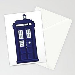 8-bit TARDIS Stationery Cards