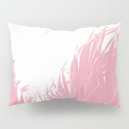 Pastel tropical fringe Pillow Sham
