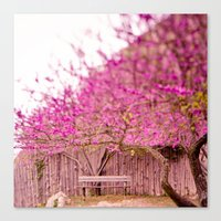 once upon a  time Canvas Prints featuring once upon a time by Hello Twiggs