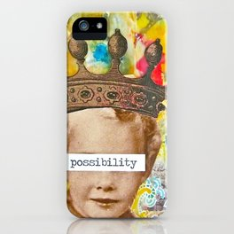 The Possibility that Lay Before You iPhone Case