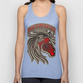 Horse Nation (Red) Unisex Tank Top