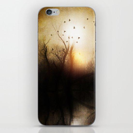 Dark sunset iPhone & iPod Skin
